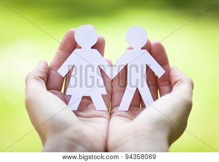 symbol of heterosexual couple
