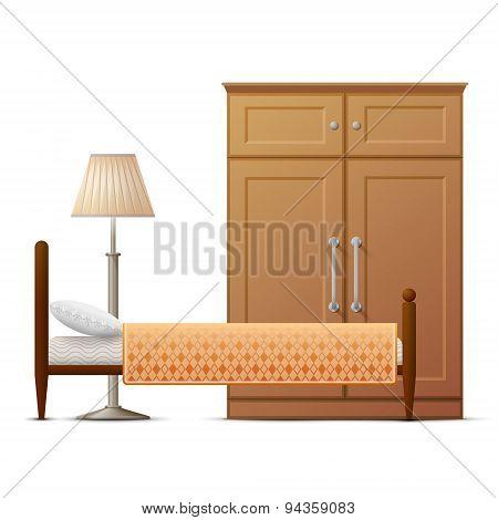 Interior Elements Of Hotel Room