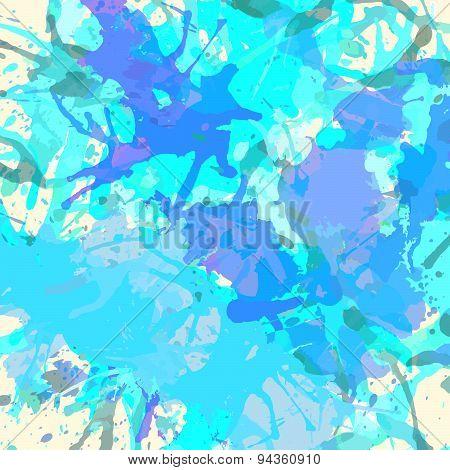 Artistic Paint Splashes