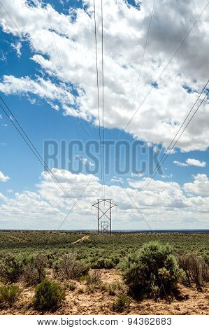 Big And Long Electric Lines
