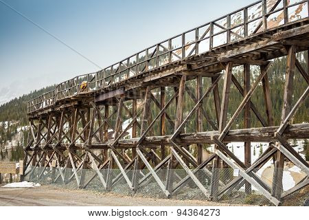 Old Wooden Railway Bridge