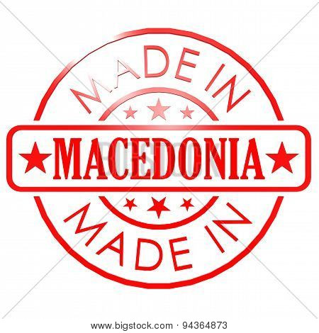 Made In Macedonia Red Seal