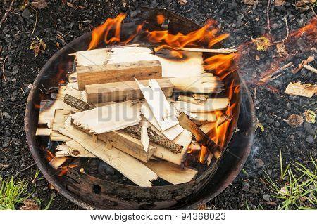 Barbeque preparation