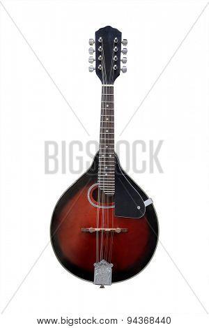 mandolin isolated under the white background