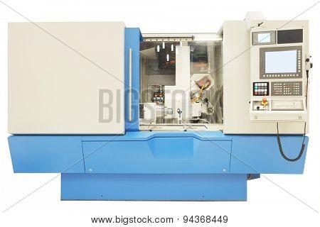 The image of metal-working machine