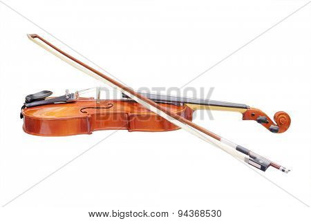 The image of a violin