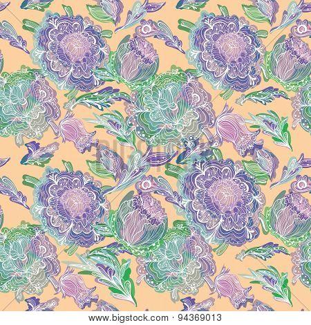 Bright Summer Pastel Pattern