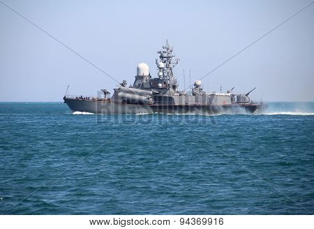 Russian missile boat