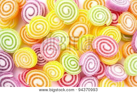 Colorful sweet candies