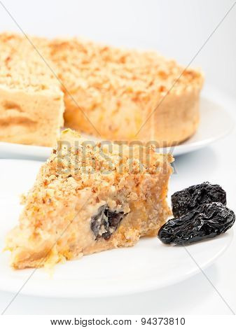 Cheesecake With Dried Fruits And Nuts
