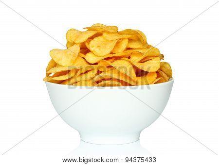 Potato chips bowl