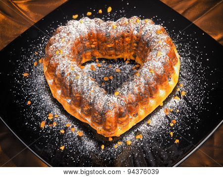 Heartshaped Cake