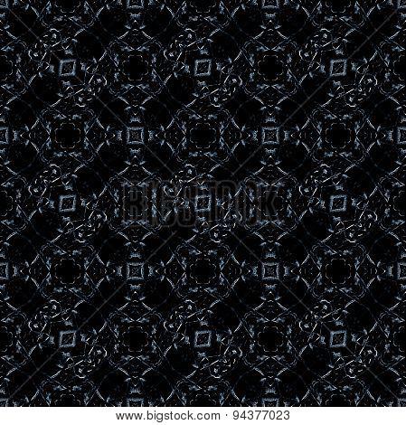 Ornate Checks Seamless Pattern