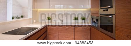 Clean Cozy Kitchen