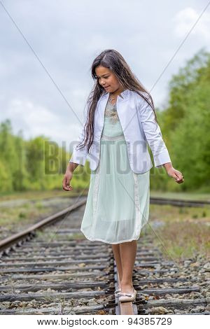 Balancing On Rail