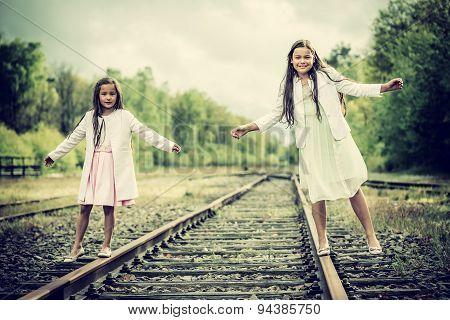 Balancing Sisters