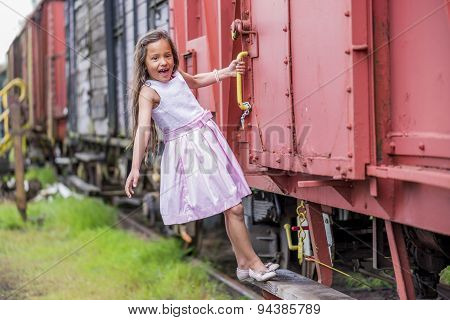 Hanging On A Train