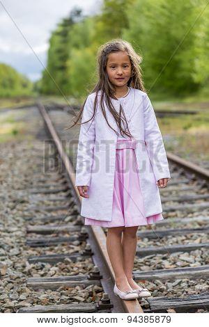 Standing On Rail