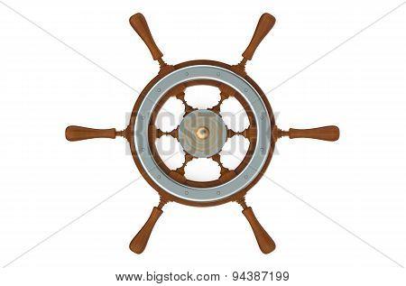Ship's Wheel Closeup