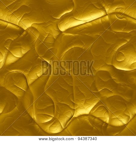 Luxury Molten Gold Liquid  - Seamlessly Background