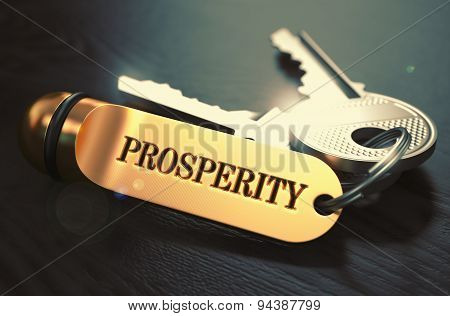 Keys with Word Prosperity on Golden Label.