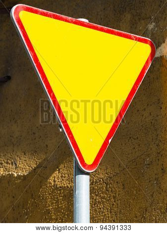 Give Way Sign - Yield Sign