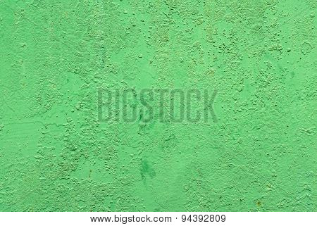 iron surface is covered with old paint background
