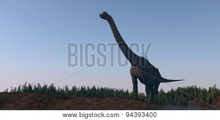 walking brachiosaurus