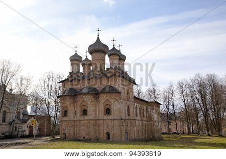 Church of the Holy Trinity. Veliky Novgorod, Russia