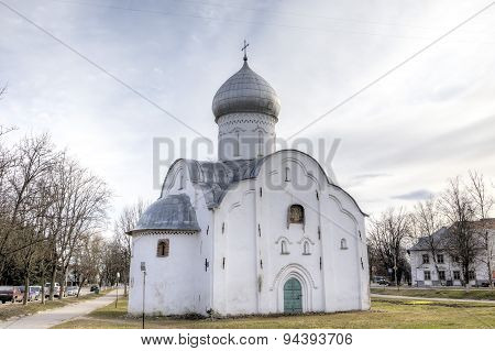 Saint Vlasiy's church. Veliky Novgorod, Russia