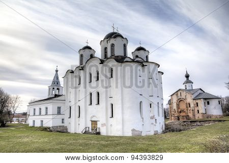 St. Nicolas Cathedral. Veliky Novgorod, Russia