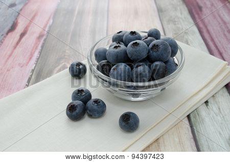 Tasty Blueberries For Breakfast
