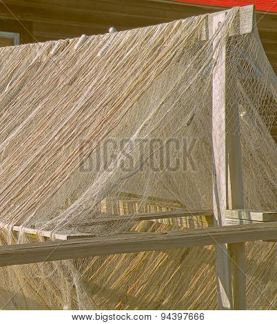 Drying Fish Nets