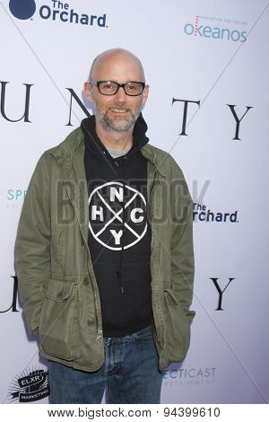 LOS ANGELES - JUN 24:  Moby at the