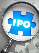 stock photo of initials  - IPO  - JPG