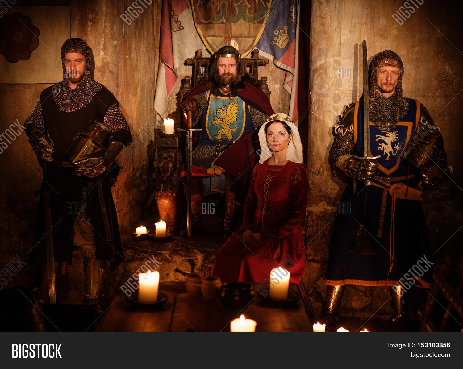 Medieval Kings and Queens   Complete List of Names & Date  Renaissance King And Queen