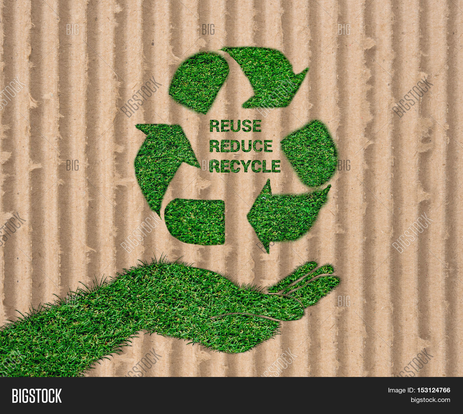 World environment day let 39 s save image photo bigstock for Reduce reuse recycle crafts