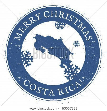 Costa Rica Map Vintage Merry Vector Photo Bigstock - County map of costa rica