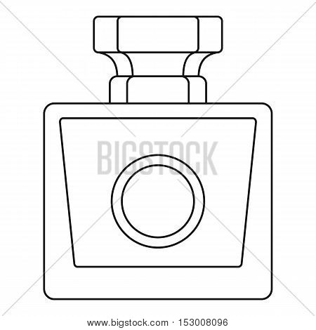Perfume bottle icon. Outline illustration of perfume bottle vector icon for web