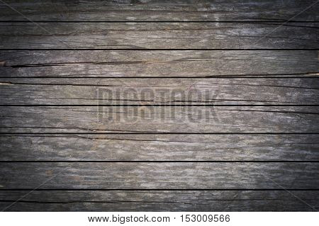 close-up of background made of dark wooden planks