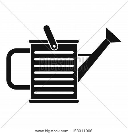 Watering can icon. Simple illustration of watering can vector icon for web