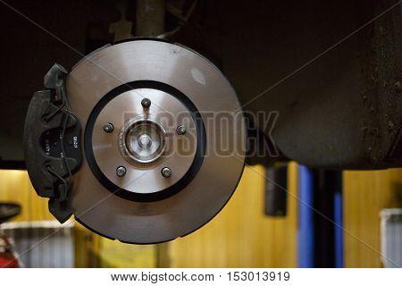 Brake system of automotive and service