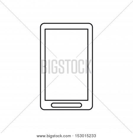 Smartphone icon. Device gadget and technology theme. Isolated design. Vector illustration