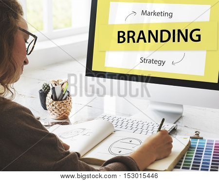 Branding Marketing Strategy Ideas Concept