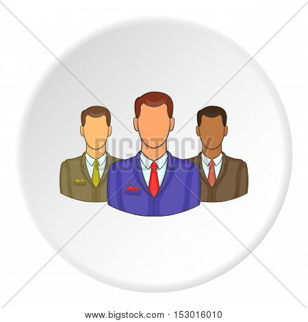 People icon. Flat illustration of people vector icon for web