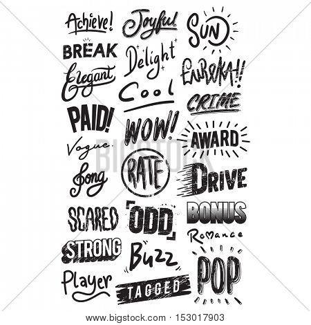 Artwork Typographic Illustration