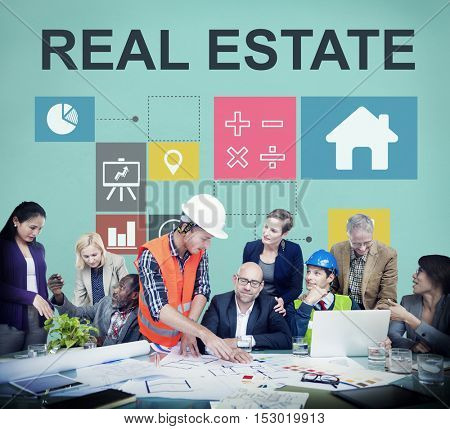 Real Estate Business Work Money Concept