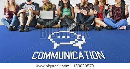 Communication Speech Bubble Concept