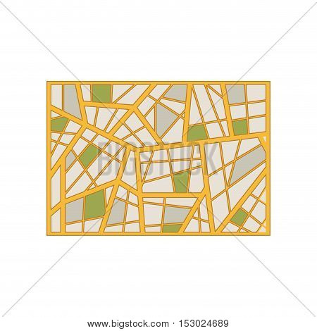 map abstract background with geometric figures vector illustration