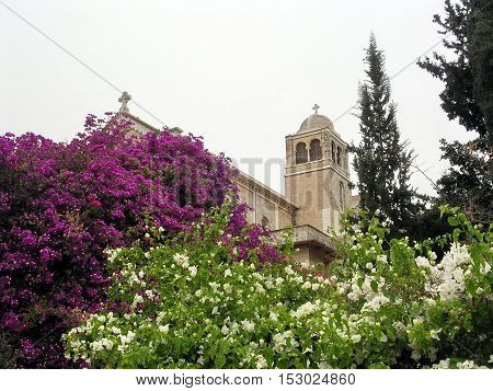 Trappist Monastery in Latrun Israel May 1 2004